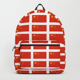 flag of china -中国,chinese,han,柑,Shanghai,Beijing,confucius,I Ching,taoism. Backpack