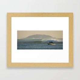 Fish France Framed Art Print