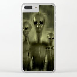 Alien Brothers Clear iPhone Case