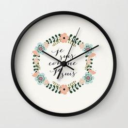 Je suis comme je suis Wall Clock