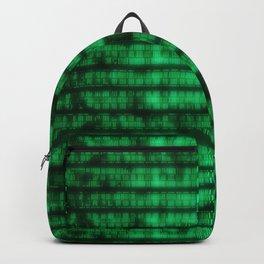 Green Dna Data Code Backpack