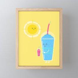 Cool Treat to Beat the Heat Framed Mini Art Print