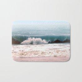 Sea wave Bath Mat