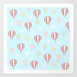 Hot Air Balloon Parade Art Print