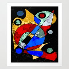 Abstract #103 Art Print