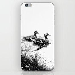 swim, swam iPhone Skin