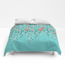 Floral Dilemma #society6 #decor #buyart Comforters