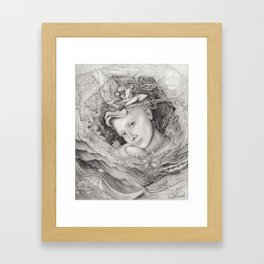 I Am Ami Amir Framed Art Print