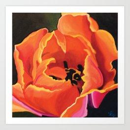 Princess Irene Tulips II Art Print