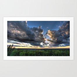 Paysage 37 Art Print