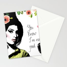 Amy's no good Stationery Cards
