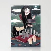 "vancouver Stationery Cards featuring ""Vancouver"" Illustration by Julia Iredale"