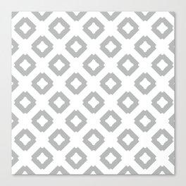 Graphic_Tile Grey Canvas Print
