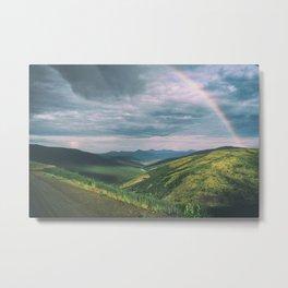 Wild landscape in Yukon, Canada Metal Print
