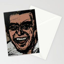 i'm just getting warmed up Stationery Cards