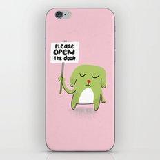 Open the Door iPhone & iPod Skin