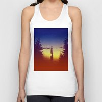 tolkien Tank Tops featuring Wander Night Noise by Stoian Hitrov - Sto