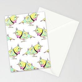 Neon Bird Stationery Cards
