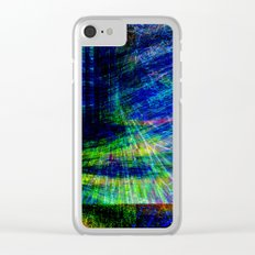 abstract geometric Clear iPhone Case