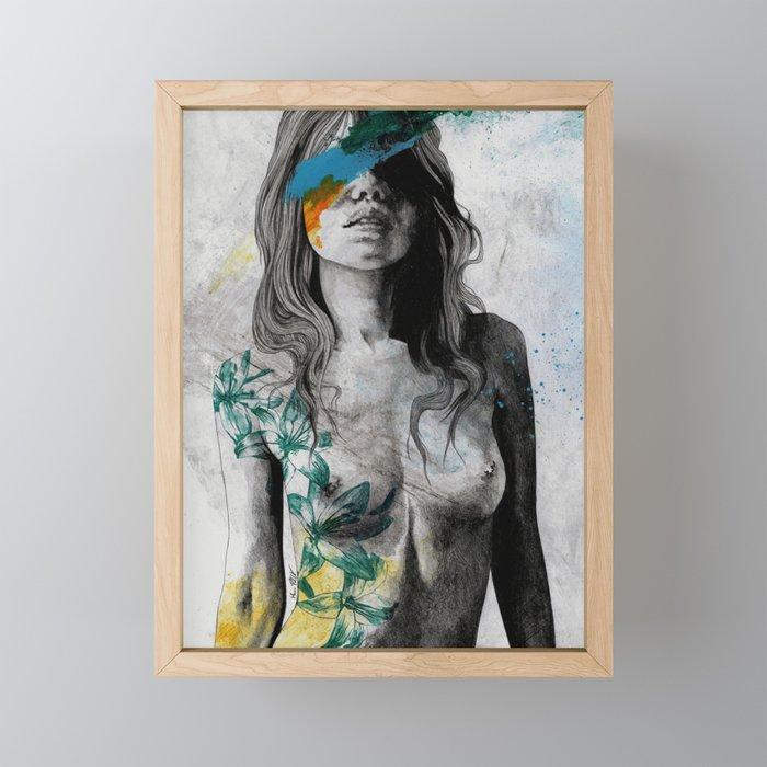 To The Marrow Framed Mini Art Print