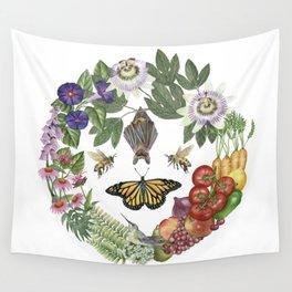 Summer's Bounty Wall Tapestry