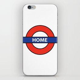 Underground Home Sign iPhone Skin