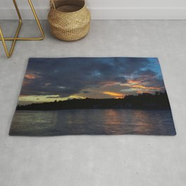 Sunset Panorama... Rug