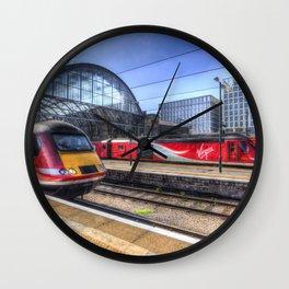 Kings Cross London Trains Wall Clock