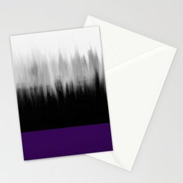 Asexuality Spectrum Flag Stationery Cards
