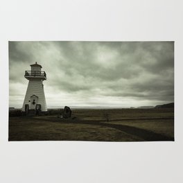 Solitary Lighthouse Rug