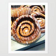 sweet roll sundays Art Print