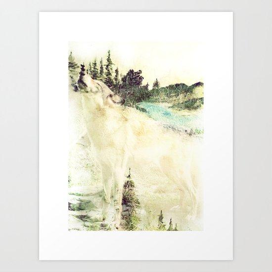 Wild Wolves Art Print