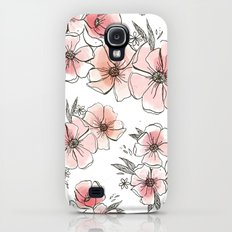 Watercolor Floral Slim Case Galaxy S4