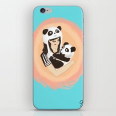 Panda & Jess iPhone & iPod Skin