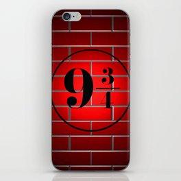 peron brick wall iPhone Skin
