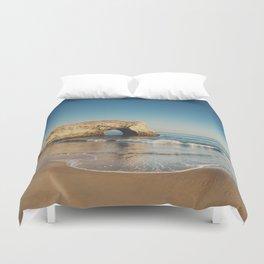 Natural Bridges State Beach ... Duvet Cover