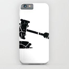 Judge gavel judge court hearing iPhone Case