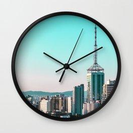 P A R A D I S E   C I T Y Wall Clock