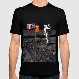 Super Mario on the Moon T-shirt