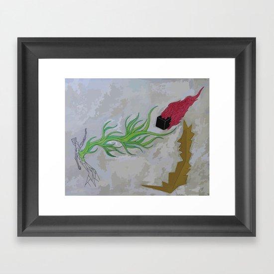Magic Spells Framed Art Print