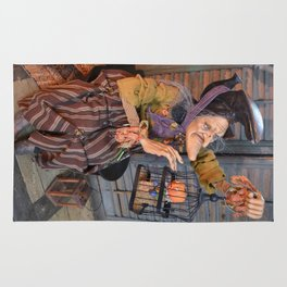 Rucus Studio Maddie the Eccentric Witch Rug