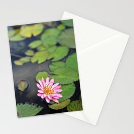 Water Lily, IX Stationery Cards