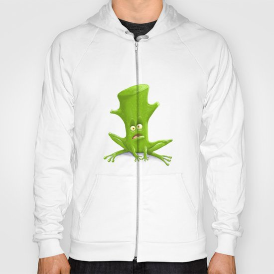 Log in a Frog Hoody