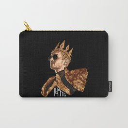 King Bill - White Text Carry-All Pouch