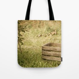 apple crate photograph Tote Bag