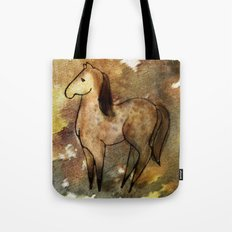 Spotted Horse Tote Bag