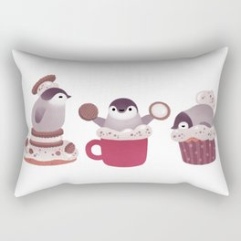 Cookie & cream & penguin Rectangular Pillow