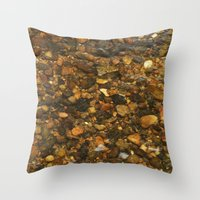 cassia beck Throw Pillows featuring Beck #5 by Emma Conner