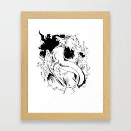 Hippocamp Framed Art Print