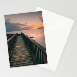 Pans Rocks Sunset III Stationery Cards
